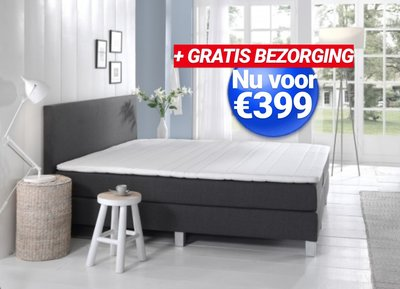 GOEDKOPE Boxspring HOME XL