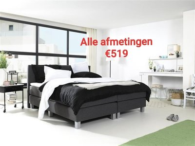 Boxspring Lyceum INCL luxe ventilerende topdekmatras